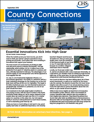 Country Connections - September 2016