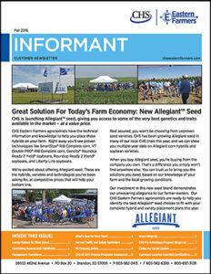 Informant - Fall 2016