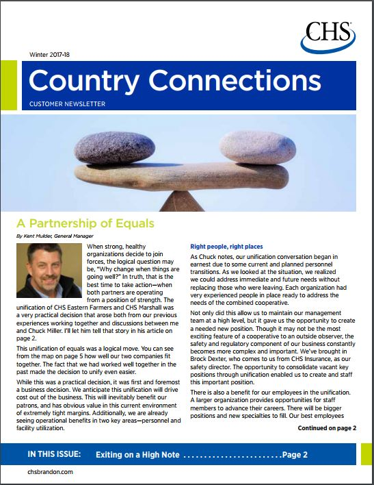 Country Connections - Winter 2017