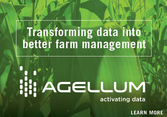 Transforming data into better farm management. Learn more about Agellum. Home page promo.